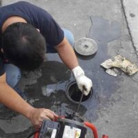 DRAIN, CLEANING, AND DECLOGGING