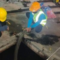 CLEAR UP CLOGGED PIPELINE AND DRAINAGE SYSTEM